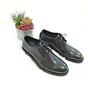 New Calvin Klein Men's 12 M Oxford Dress Shoes Blk